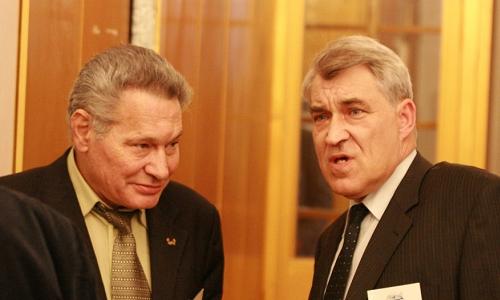 Владимир Шишкин (слева) и Владимир Емельянов, фото AtomInfo.Ru
